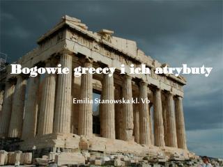 Bogowie greccy i ich atrybuty