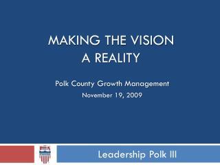 Leadership Polk III