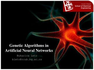 Genetic Algorithms in Artificial Neural Networks