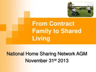 From Contract Family to Shared Living