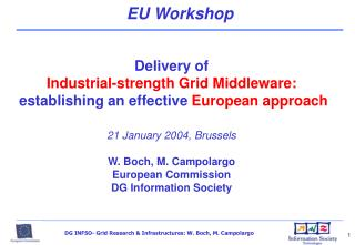 EU Workshop