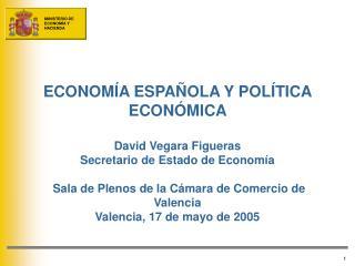 El contexto económico del Plan Plan de dinamización de la economía e impulso a la productividad