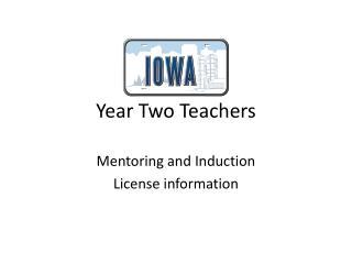 Year Two Teachers