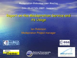 Report on the Medspiration Service and its Usage