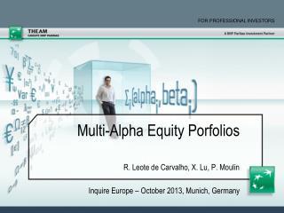 Multi-Alpha Equity Porfolios