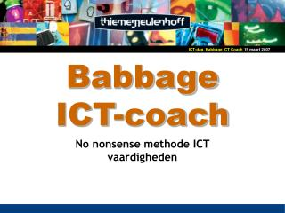 Babbage  ICT-coach