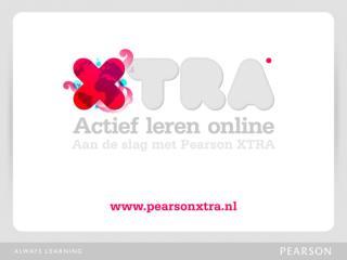Wat is Pearson XTRA?