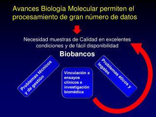 Avances Biología Molecular permiten el procesamiento de gran número de datos