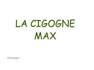 LA CIGOGNE MAX