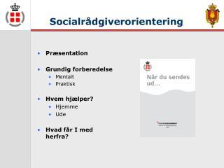 Socialrådgiverorientering
