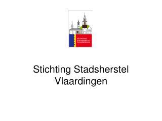 Stichting Stadsherstel Vlaardingen