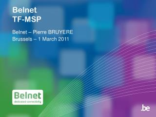 Belnet TF-MSP