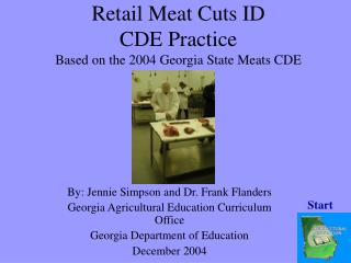 Retail Meat Cuts ID  CDE Practice Based on the 2004 Georgia State Meats CDE