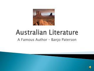 Australian Literature