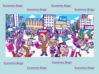 Economics Bingo!