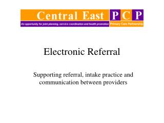 Electronic Referral