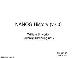 NANOG History (v2.0)