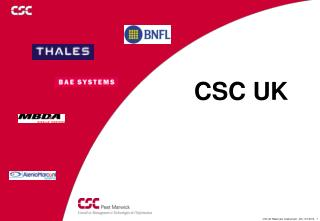 CSC UK