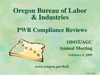 Oregon Bureau of Labor  & Industries