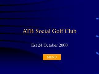 ATB Social Golf Club