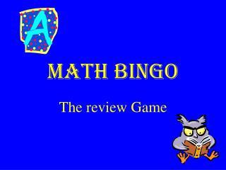 Math Bingo