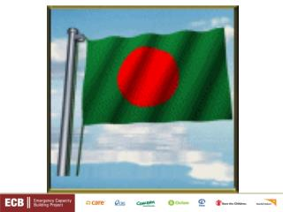 Experience of ECB Networking with Government in Bangladesh Presented by Pintu William Gomes