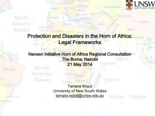 Protection and Disasters in the Horn of Africa: Legal Frameworks