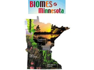 Scientific and Natural Areas found in Minnesota major biomes
