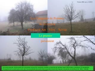 Les Croqueurs de Pommes de la section  Confluent Ain – Isère – Savoie présentent