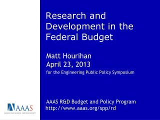 Research and Development in the Federal Budget