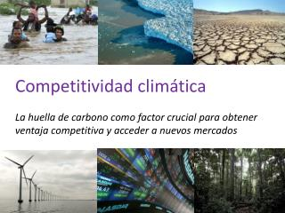 Competitividad clim�tica