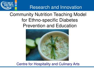 Community Nutrition Teaching Model for Ethno-specific Diabetes Prevention and Education