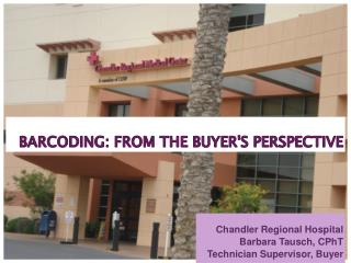 BarCoding : From the Buyer's Perspective