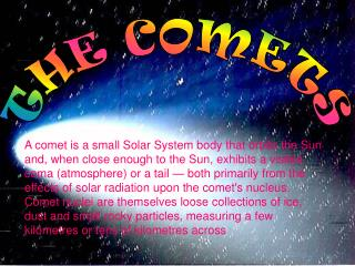 THE COMETS