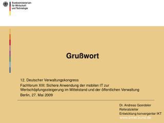 bmwi.bund.de