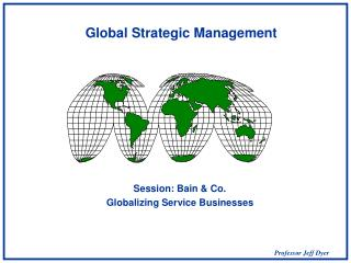 global issues in strategic management Contemporary global issues and the inter  issues in global business and strategic concepts spring  global issues in strategic management.