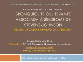 Hospital Regional da Asa Sul - HRAS