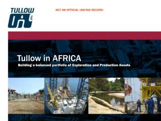 Tullow in AFRICA