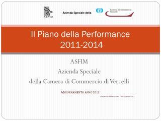 Il Piano della Performance  2011-2014