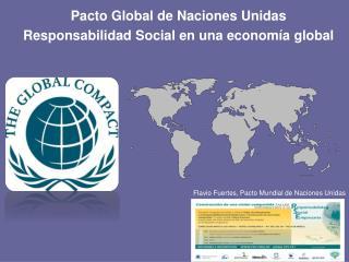 Flavio Fuertes, Pacto Mundial de Naciones Unidas