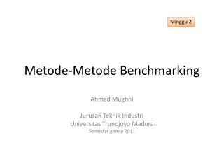 Metode-Metode  Benchmarking