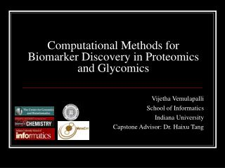 Computational Methods for Biomarker Discovery in Proteomics and Glycomics