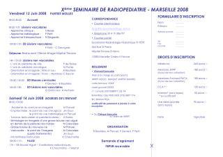 Vendredi 13 Juin 2008     PARTIES MOLLES 8h00-8h30  Accueil 8h30-10h   Lésions vasculaires