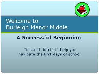 Welcome to  Burleigh Manor Middle