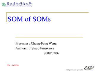SOM of SOMs