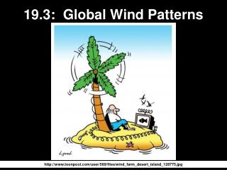 19.3:  Global Wind Patterns