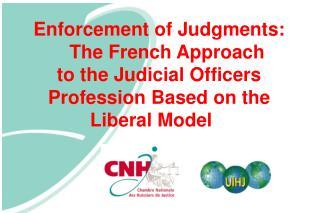 Enforcement of Judgments: