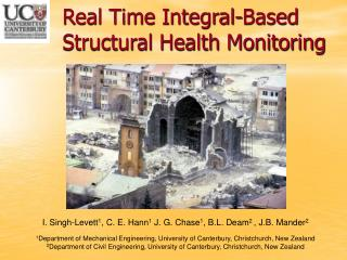 Real Time Integral-Based Structural Health Monitoring