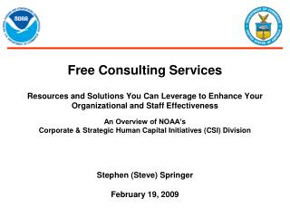 Free Consulting Services  Resources and Solutions You Can Leverage to Enhance Your Organizational and Staff Effectivenes