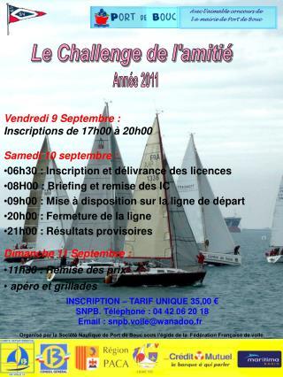 Avec l�aimable concours de    l a mairie de Port de Bouc
